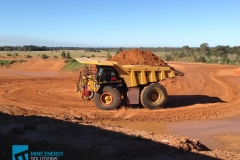 High Density Compressed Natural Gas HDCNG / diesel dual fuel conversion mine truck 473 on mining site Thumbnail