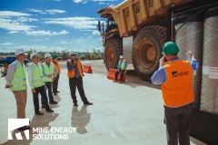 Mine Energy Solutions High Density Compressed Natural Gas HDCNG dual fuel conversion demonstration on mine site Thumbnail