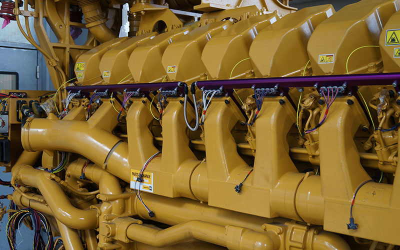High Density Compressed Natural Gas HDCNG converted engine