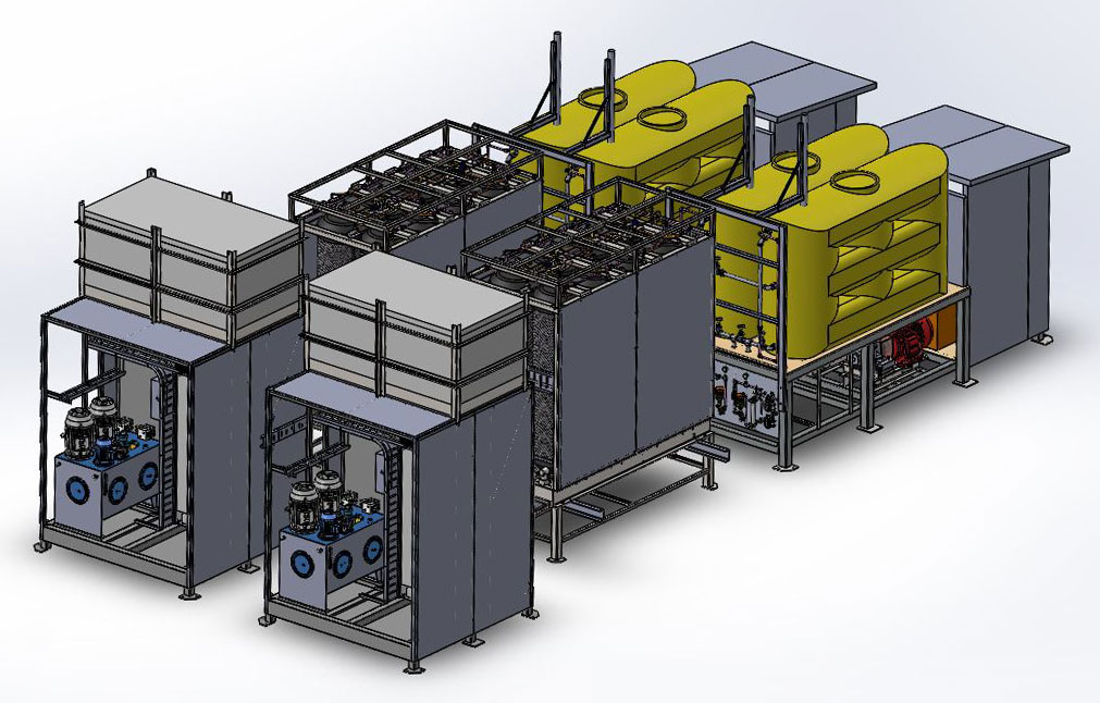High Density Compressed Natural Gas (HDCNG) processing & production facility